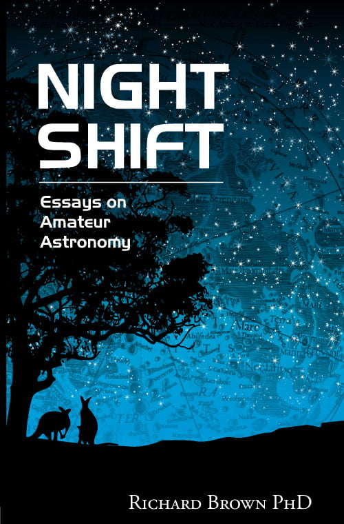 Cover design of Richard Brown Night Shift