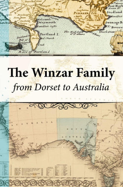 Family Histories and Memoirs Cover design of Peta Winzar The Winzar Family