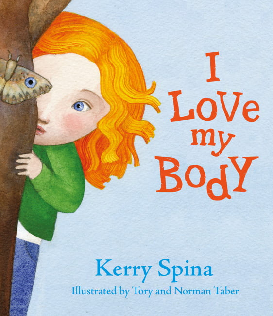 Front cover of I Love my Body board book